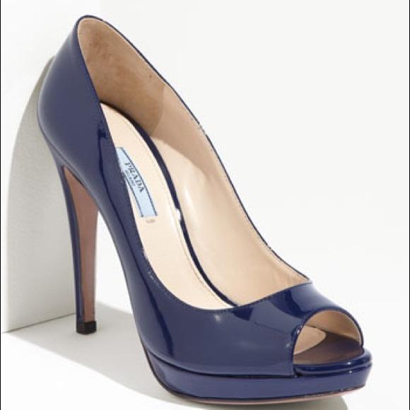 Prada Shoes - Prada Patent Pumps